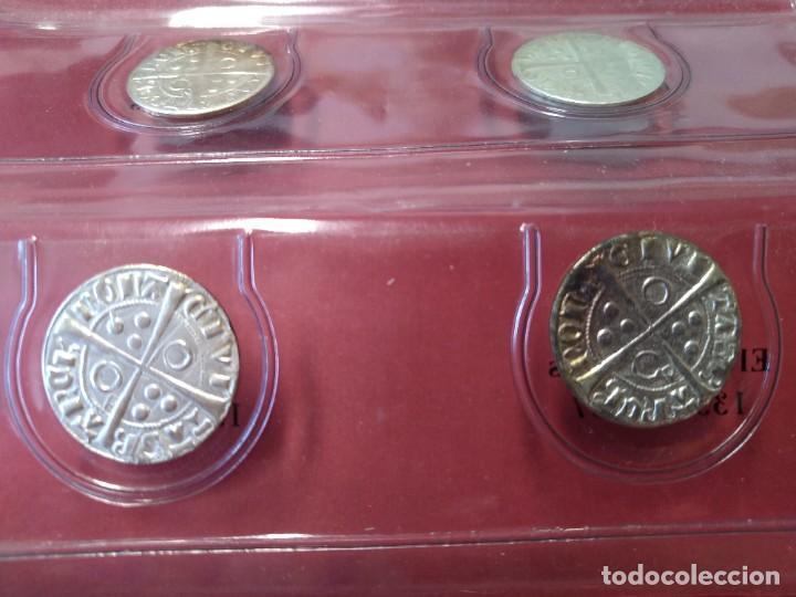 Monedas medievales: COLECCION DE MONEDAS CATALANAS - REYES MEDIEVALES, 1276-1458 - EL OBSERVADOR, .... L2110 - Foto 6 - 220445000