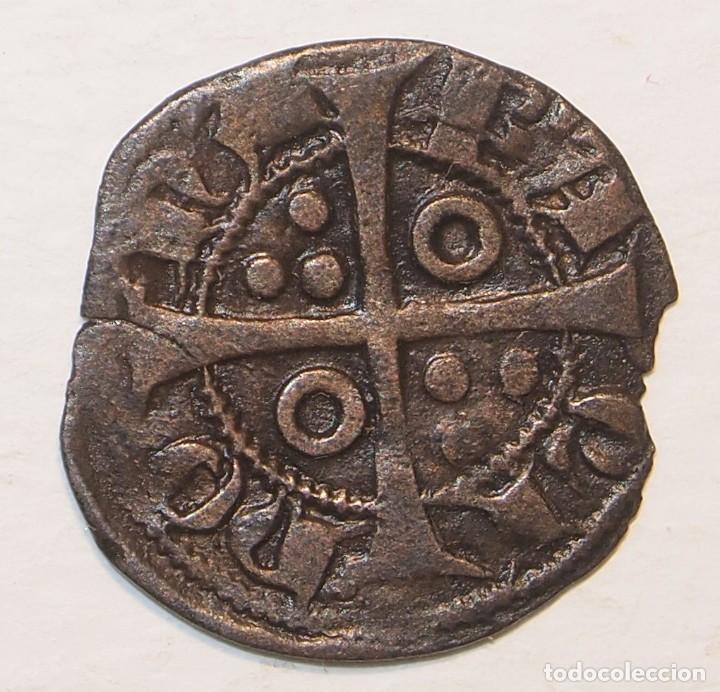 Monedas medievales: Dinero Jaume II (1291-1327) - Foto 2 - 221938931