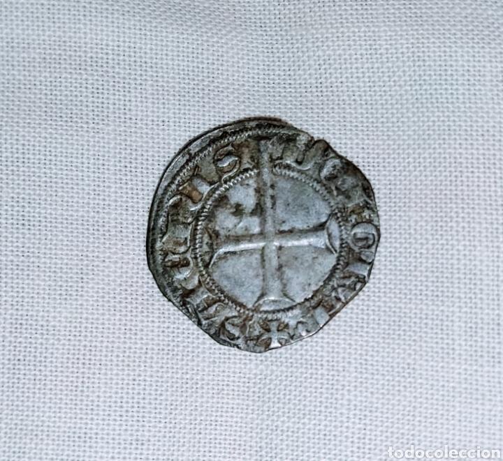 Monedas medievales: Dobler de vellón reino de Mallorca. Muy rara - Foto 2 - 224382185