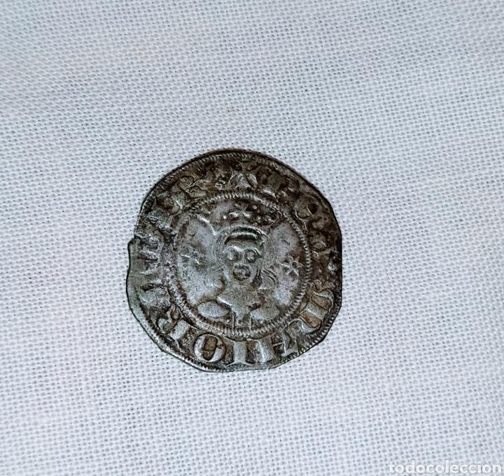 Monedas medievales: Dobler de vellón reino de Mallorca. Muy rara - Foto 3 - 224382185