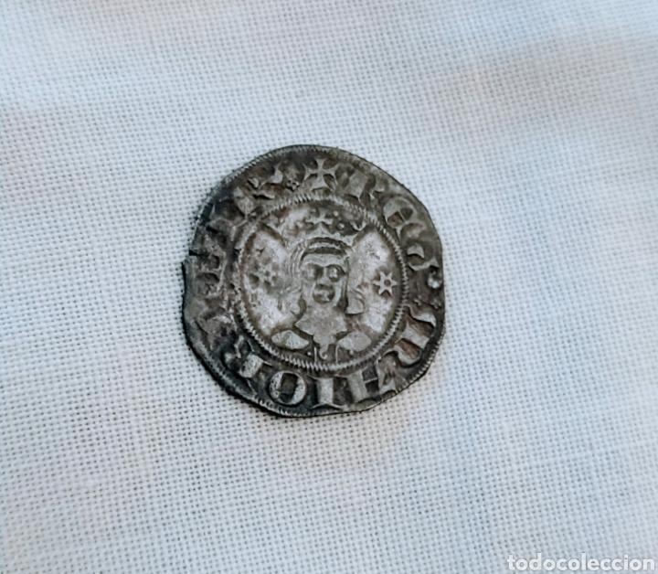 DOBLER DE VELLÓN REINO DE MALLORCA. MUY RARA (Numismática - Medievales - Cataluña y Aragón)