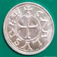 Monedas medievales: MONEDA DE CARLOMAGNO DE BARCELONA PLATA *. Lote 225537320