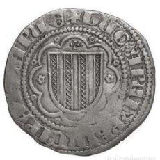 Moedas medievais: PIRRAL DE SICILIA AÑO 1355 - 1377 CORONA DE ARAGÓN. Lote 228636430