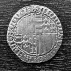 Monedas medievales: 1-CARLINO ALFONSO I. NÁPOLES 1435-1458. Lote 236088535