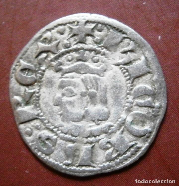 MONEDA DINERO DE JAIME II CECA DE BARCELONA (Numismática - Medievales - Cataluña y Aragón)
