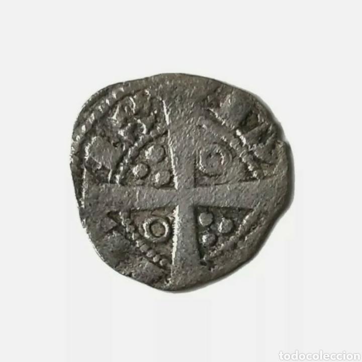 OBOL DE TERN. BARCELONA. JAIME I. 1213 - 1276. IA EN ANILLO. CORONA DE ARAGÓN. (Numismática - Medievales - Cataluña y Aragón)