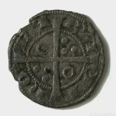 Moedas medievais: CORONA DE ARAGÓN. BARCELONA. DINER. JAIME II. (1291 - 1327). BA EN 3 PUNTOS.. Lote 241501390