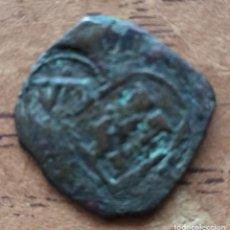 Monete medievali: MONEDA MARAVEDÍ FELIPE III DE 1604 RESELLADA. Lote 242968050