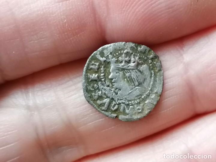 DINER FERRAN II. VALENCIA MARCAS SS DE LOS SANCHEZ (Numismática - Medievales - Cataluña y Aragón)
