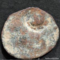 Monedas medievales: DINERO INCUSA DE BELLPUIG LLEIDA FERNANDO II S.XVI UNA CONTRAMARCA MUY RARA. Lote 247642320