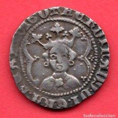 Monedas medievales: VALENCIA - FERNANDO I DE ARAGÓN (1412-1416), REAL DE PLATA - RARO. Lote 248049730
