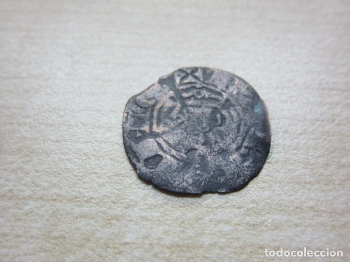 DINERO DE JAIME I DE ARAGÓN 1213-1276 EMITIDO EN BARCELONA (Numismática - Medievales - Cataluña y Aragón)