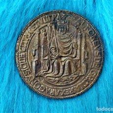 Monedas medievales: REPRODUCCIÓN SELLO ALFONSO V 1445 - COLECCION SELLOS REALES DE ARAGÓN.. Lote 261272900