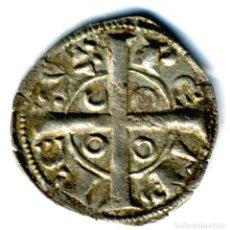 Monedas medievales: XS- CATALUNYA PERE EL CATÓLIC (1196-1213) DINER DE TERN DE BARCELONA BONICA. Lote 263205360