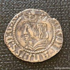 Monedas medievales: CROAT FERNANDO II EL CATOLICO BARCELONA 1479-1516. SILVER PLATA. Lote 266461328