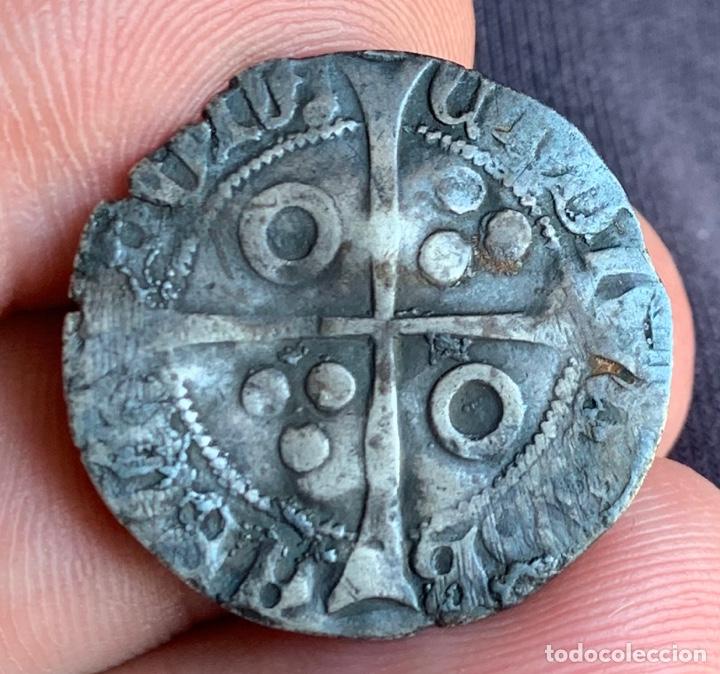 Monedas medievales: CROAT Enrique IV de Castilla, acuñado en Barcelona Rarísima - Foto 5 - 266548893