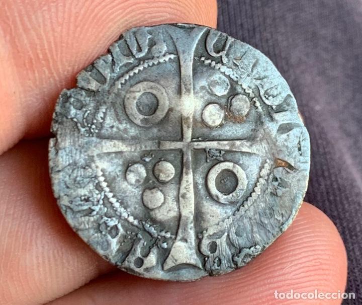 Monedas medievales: CROAT Enrique IV de Castilla, acuñado en Barcelona Rarísima - Foto 6 - 266548893