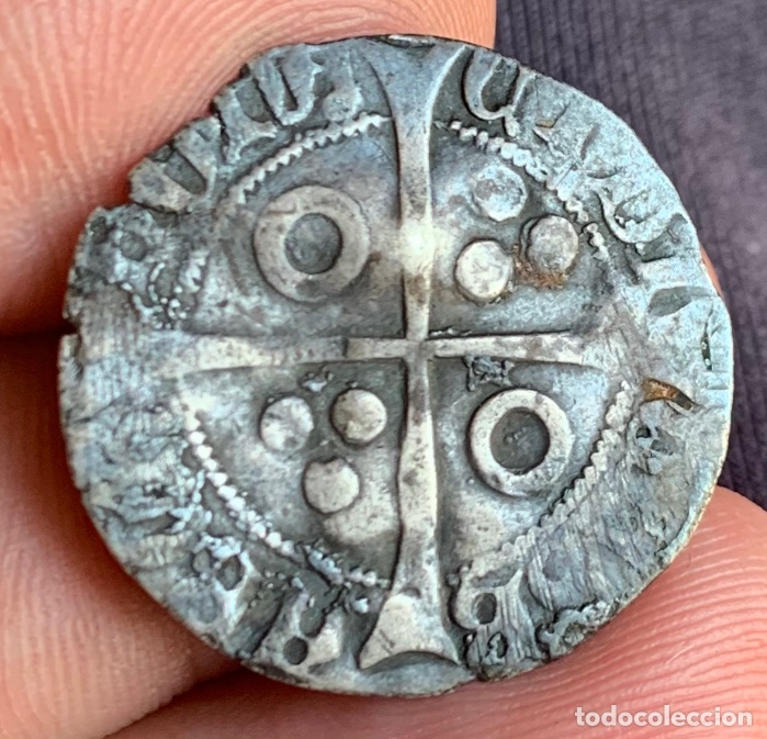 Monedas medievales: CROAT Enrique IV de Castilla, acuñado en Barcelona Rarísima - Foto 7 - 266548893