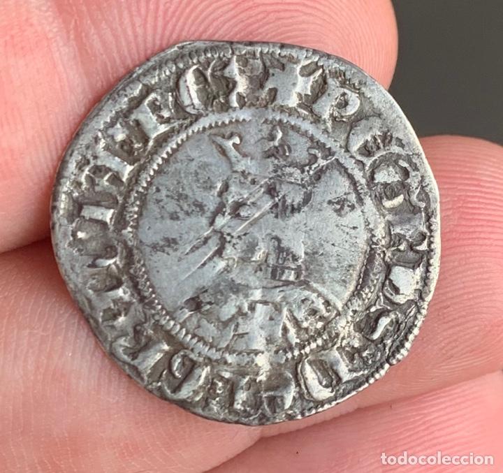 Monedas medievales: Alfons III (1327-1336). Barcelona Croat. (Cru.V.S. 346) (Cru.C.G. 2182) Variante - Foto 6 - 266882374