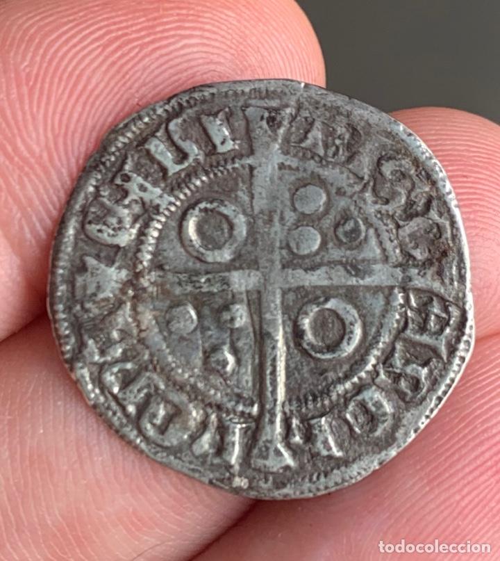 Monedas medievales: Alfons III (1327-1336). Barcelona Croat. (Cru.V.S. 346) (Cru.C.G. 2182) Variante - Foto 8 - 266882374