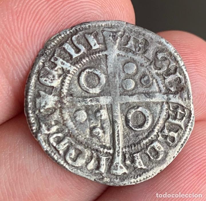 Monedas medievales: Alfons III (1327-1336). Barcelona Croat. (Cru.V.S. 346) (Cru.C.G. 2182) Variante - Foto 10 - 266882374