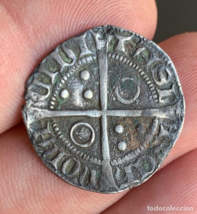 Monedas medievales: CROAT Pere III (1336-1387). Barcelona. (Cru.V.S. 407) Variante Muy Rara - Foto 2 - 266951219