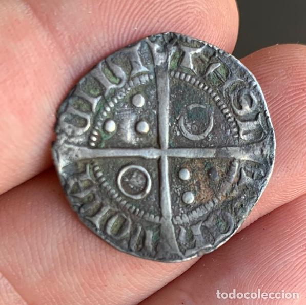 Monedas medievales: CROAT Pere III (1336-1387). Barcelona. (Cru.V.S. 407) Variante Muy Rara - Foto 3 - 266951219