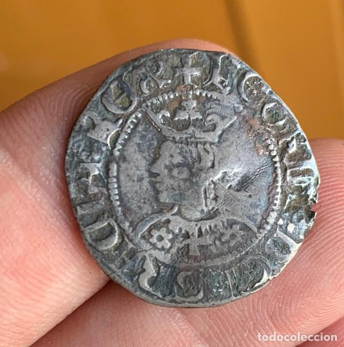 Monedas medievales: CROAT Pere III (1336-1387). Barcelona. (Cru.V.S. 407) Variante Muy Rara - Foto 7 - 266951219