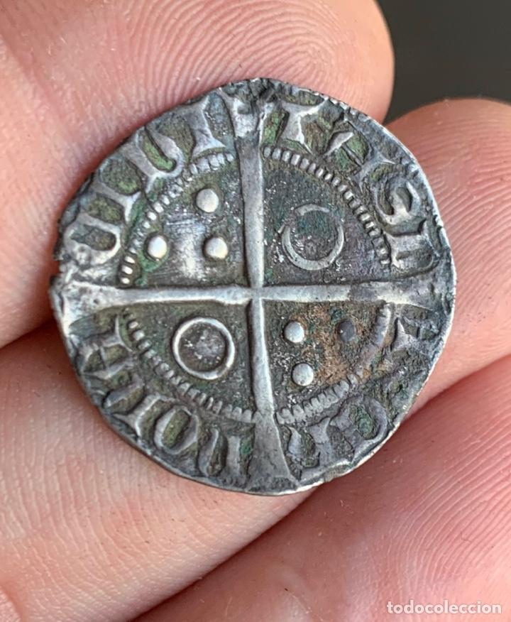 CROAT PERE III (1336-1387). BARCELONA. (CRU.V.S. 407) VARIANTE MUY RARA (Numismática - Medievales - Cataluña y Aragón)