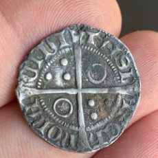 Monedas medievales: CROAT PERE III (1336-1387). BARCELONA. (CRU.V.S. 407) VARIANTE MUY RARA. Lote 266951219