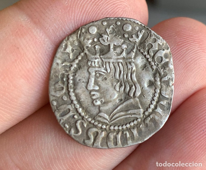 Monedas medievales: CROAT FERRAN II Barcelona Medieval 1479-1516 Cru.V.S. 1139.1) (Badia 679 var) - Foto 2 - 267779174