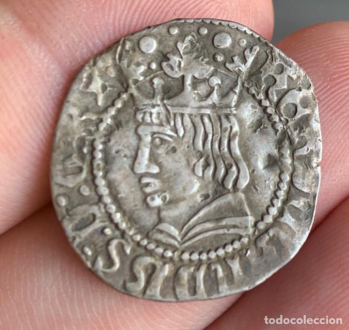 Monedas medievales: CROAT FERRAN II Barcelona Medieval 1479-1516 Cru.V.S. 1139.1) (Badia 679 var) - Foto 3 - 267779174