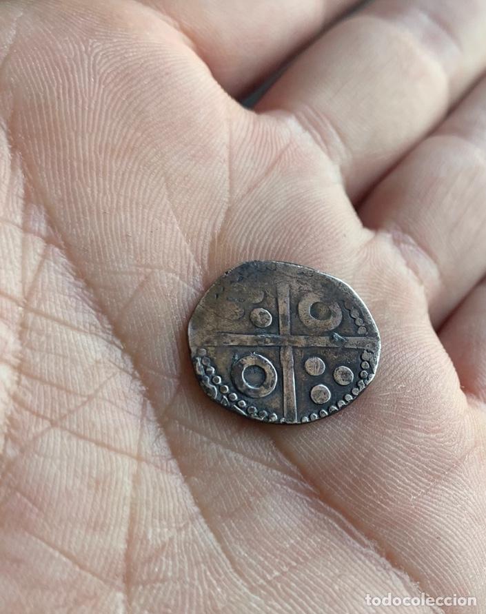 Monedas medievales: Croat Ferran I (1412-1416) Barcelona. Cru.V.S.763.(Badia falta) Muy bella Rara - Foto 11 - 268130759