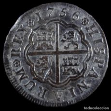 Monedas medievales: FERNANDO VI, 1 REAL DE PLATA, MADRID 1756 - 20 MM / 2.90 GR.. Lote 269157473