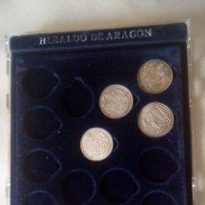 Monedas medievales: ARRAS ARAGONESAS DE PLATA (REPRODUCION ORIGINALES EN PLATA). Lote 269311423