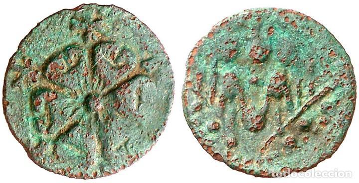 GIRONA. SENYAL. (CRU.L. 1556) (CRU.C.G. 3730). 0,54 G. EBC- (Numismática - Medievales - Cataluña y Aragón)