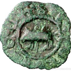 Monedas medievales: (POSTERIOR A 1328). PONTS. PUGESA INCUSA. (CRU.V.S. FALTA) (CRU.L. FALTA) (CRU.C.G 3817) ESCASA EBC-. Lote 269496418