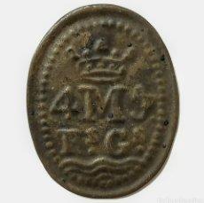 Monedas medievales: MONEDA LOCAL CATALANA. PELLOFA DE SANTA MARÍA DEL MAR (BARCELONA). Lote 273181883