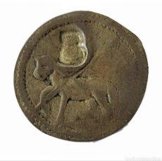 Monedas medievales: MONEDA LOCAL CATALANA. PELLOFA. SANT JOAN DE PERPINYA. PERPIÑAN .. Lote 273188888