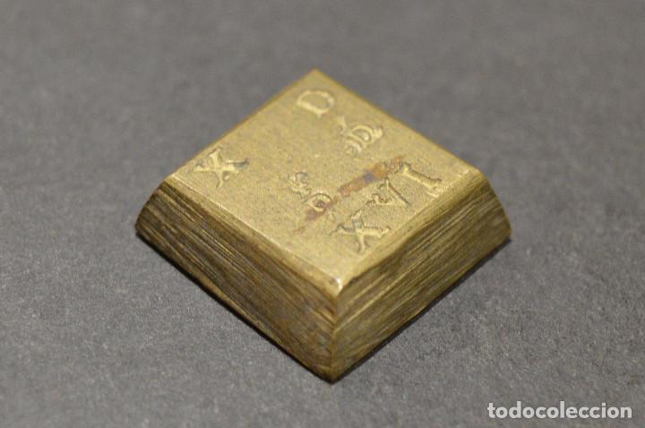 Monedas medievales: PONDERAL PARA 4 REALES REYES CATOLICOS EXCELENTE CONSERVACION - Foto 3 - 276660783