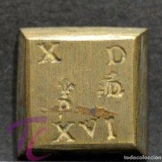 Monedas medievales: PONDERAL PARA 4 REALES REYES CATOLICOS EXCELENTE CONSERVACION. Lote 276660783