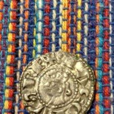 Monedas medievales: BONITO DINER DE JAIME I EL CONQUISTADOR (1213-1276) CECA DE VALENCIA CON FICHA DE COLECCIÓN ANTIGUA. Lote 277460448