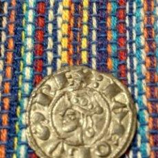 Monedas medievales: BONITO DINER DE JAIME I EL CONQUISTADOR (1213-1276) CECA DE VALENCIA CON FICHA DE COLECCIÓN ANTIGUA. Lote 277461293