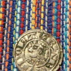 Monedas medievales: BONITO DINER DE JAIME I EL CONQUISTADOR (1213-1276) CECA DE BARCELONA CON FICHA DE COLECCIÓN ANTIGUA. Lote 277461413