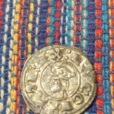Monedas medievales: BONITO DINER DE JAIME I EL CONQUISTADOR (1213-1276) CECA DE VALENCIA CON FICHA DE COLECCIÓN ANTIGUA. Lote 277461643