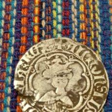 Monedas medievales: RARO REAL DE ALFONS IV (1416-1458). CECA DE MALLORCA.MARCA: ESTRELLAS.. Lote 277728713