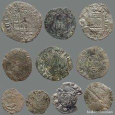 Monedas medievales: CURIOSO LOTE DE 10 MONEDAS ANTIGUAS. 9-L3. Lote 278373538