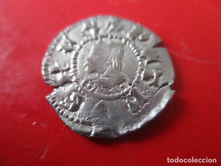 DINERO DE PEDRO III 1336/1387. CONDADO DE CATALUÑA (Numismática - Medievales - Cataluña y Aragón)