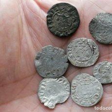 Monedas medievales: LOTE 7 MONEDAS MEDIEVALES VELLON. Lote 286937288