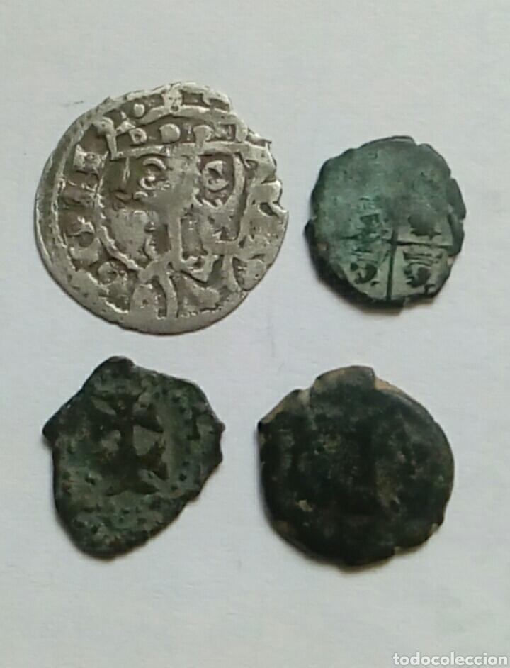 JAIME I -ARAGON- CORNADO Y 3 DINEROS (Numismática - Medievales - Cataluña y Aragón)